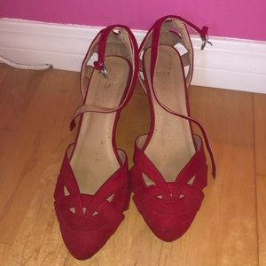 ModCloth red shoes